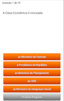 Screenshot of Quiz AproveJa Caixa