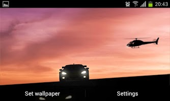 Screenshot of Racing Cars -LIVE- Wallpaper