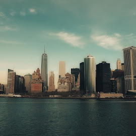 New York Skyline :) by Franco Cuen - Buildings & Architecture Architectural Detail