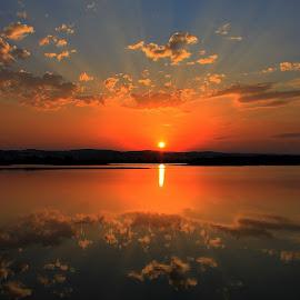Last night... by Radita Watkinson - Landscapes Sunsets & Sunrises