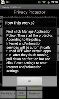 Screenshot of Privacy Protector (No root)