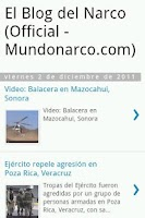 Screenshot of Narco Blog