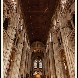 Romsey Abbey by Simon Page - Buildings & Architecture Places of Worship