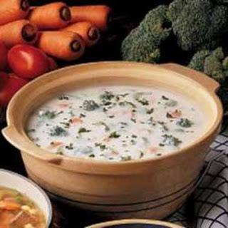 Broccoli Soup Taste Of Home Recipes