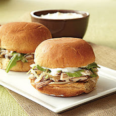 Rosemary Pork Sliders with Horseradish Aioli