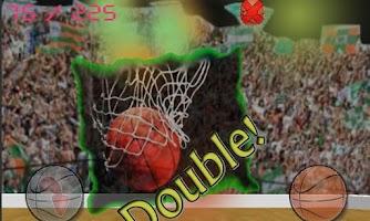 Screenshot of Basketball Shoot: 3D Strike