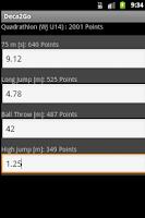 Screenshot of Deca2Go Calculator + Stopwatch