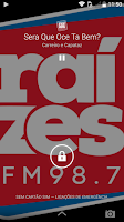 Screenshot of Raízes FM
