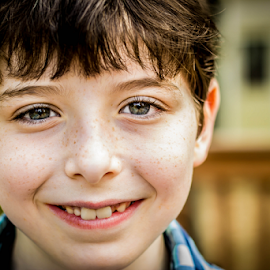 Lucas by Tracy Boyd Goodwin - Babies & Children Children Candids ( child, smile, freckles, smiling, kid )