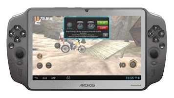 Screenshot of Archos Mapping Tool (GamePad)
