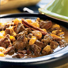Tagine of Lamb and Apricots in Honey Sauce