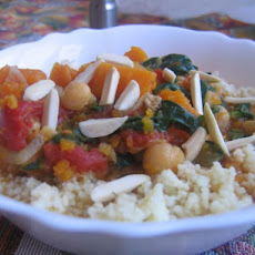 Spiced Butternut Squash Stew W/ Couscous