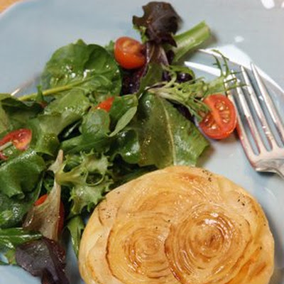 Individual Potato-and-Onion Tartes Tatin