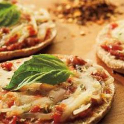 Whole Wheat Mini Pepperoni Pizzas