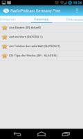 Screenshot of RadioPodcast Germany Free