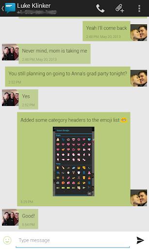 Sliding Messaging Pro - screenshot