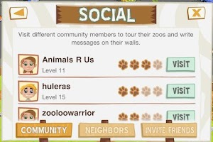 Screenshot of Zoo Story