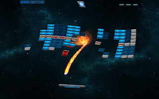 Screenshot of ST Ball Breakout Game