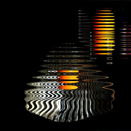 Reflections  by Prasanta Das - Digital Art Abstract ( patterns, reflections )
