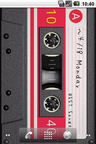 カセットテープ ライブ壁紙