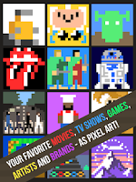 Screenshot of Pixel Pop - Icons, Logos Quiz