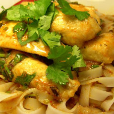 Blue-Eye Cod With Curry Sauce