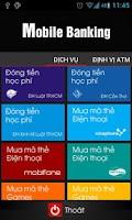 Screenshot of Agribank Mobile Banking