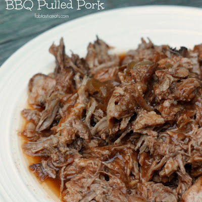 5 Minute Crockpot BBQ Pulled Pork