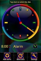 Screenshot of Rainbow Alarm Clock Widget