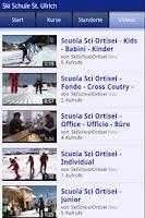 Screenshot of Ski School Ortisei