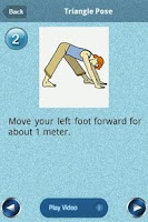 Screenshot of Easy Yoga Lite