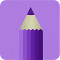 Purple Draw icon