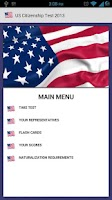 Screenshot of US Citizenship Test 2013 Free