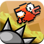 Flapping Cage: Avoid Spikes 1.3 Apk