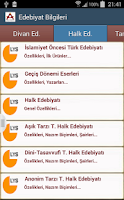Screenshot of LYS PRATİK EDEBİYAT BİLGİLERİ