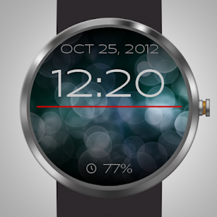 Bokeh Watch Face