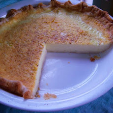 Duncan's Egg Custard Pie