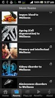 Screenshot of Raga Music Therapy Lite