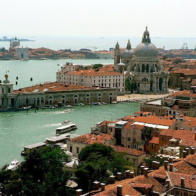 Venice vistas. by Peter DiMarco - City,  Street & Park  Vistas ( views, vista, venice, view, travel,  )