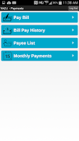 Screenshot of VACU Mobile Banking