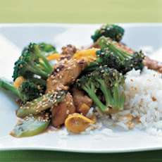 Chicken, Broccoli, and Lemon Stir-Fry