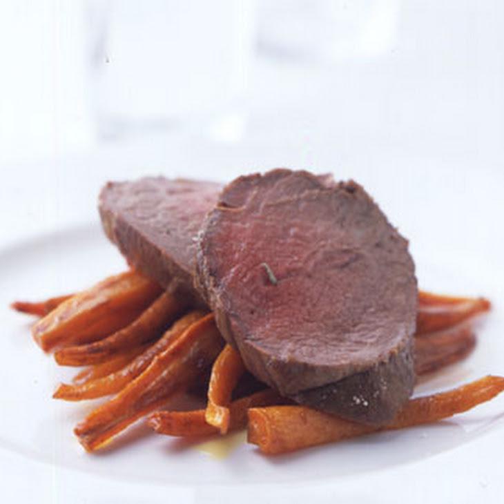 Beef Tenderloin in Herbed Salt Crust Recept | Yummly