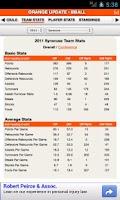 Screenshot of Syracuse Football & Basketball