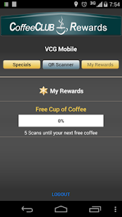 Coffee Club - screenshot