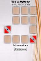 Screenshot of Jogo da Memória