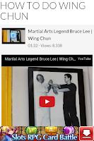 Screenshot of How to Do Wing Chun