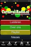 Screenshot of Carnaval Radio