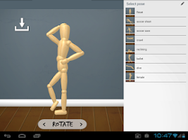 Screenshot of WoodenMan - Drawing Mannequin