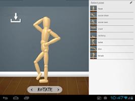 Screenshot of WoodenMan - Drawing Mannequin