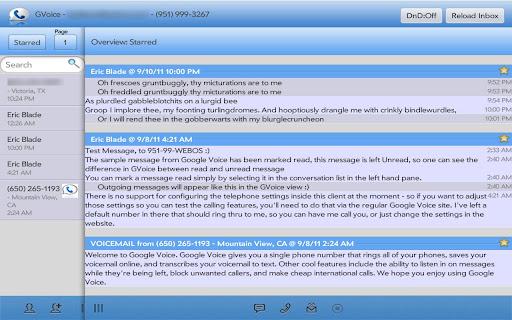 SynerGV- Google Voice™ SMS Mgr